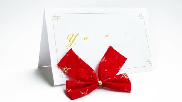 Te meghívott szöveg üdvözlés kártya-val orr