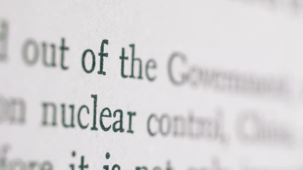 Government nuclear control