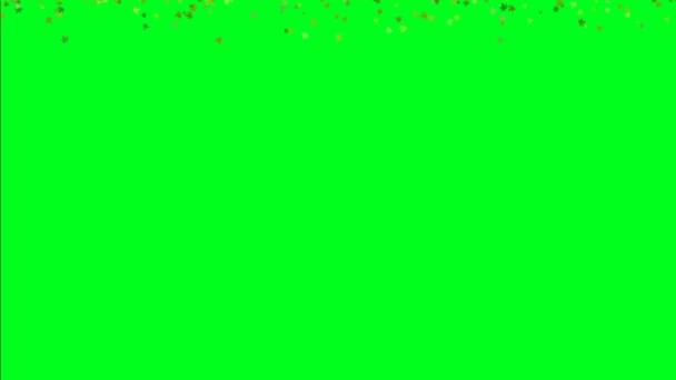 Falling Leaves On Green Screen Stock Video C Alexskopje 239789206