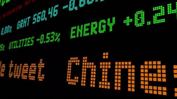 Chinesische Aktien schnellten im Trumpf-Trade-Tweet-Aktienticker in die Höhe