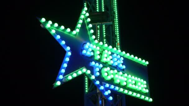 Star Tower neon LED világítás jele