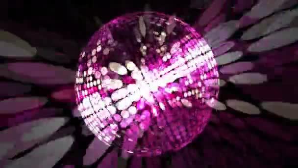Diszkó lila labda