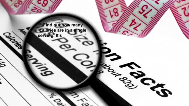 Lupa na nutriční fakta