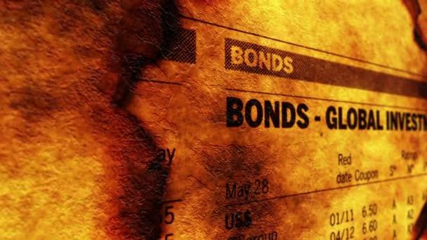 Anleihen als globale Investition
