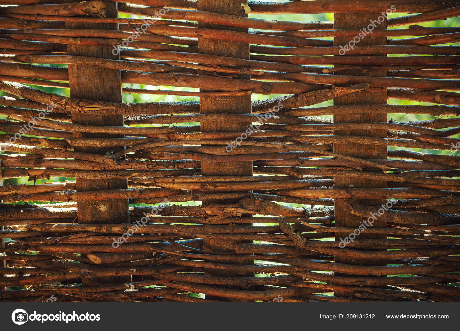 texture old wooden handcrafted fence stock photo krsmanovic