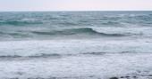 Fotografia Vista di onde di mare blu