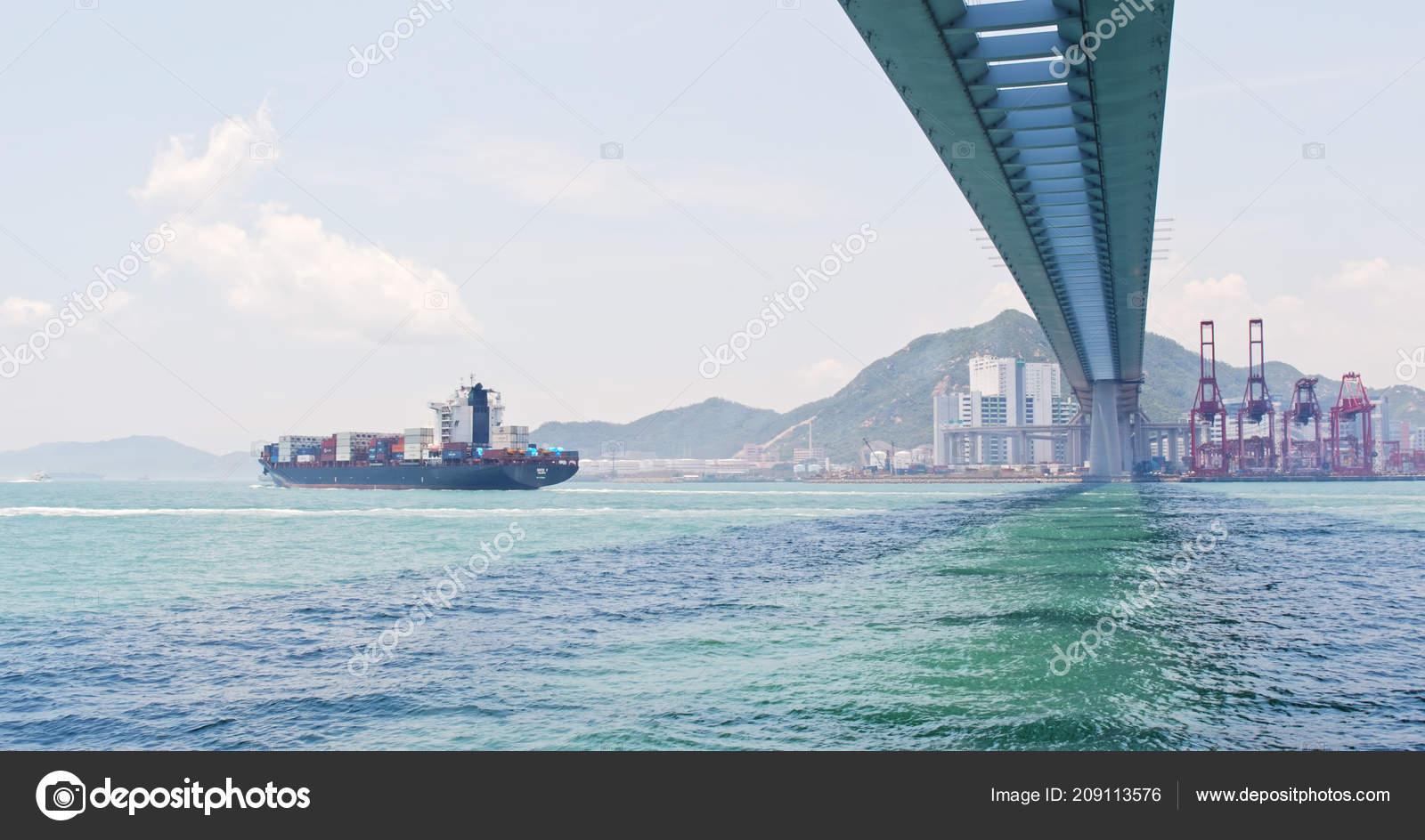 Kwai Tsing Hong Kong May 2018 Hong Kong Kwai Tsing – Stock