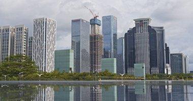 Shenzhen city, China - 19 July, 2018: Shenzhen city