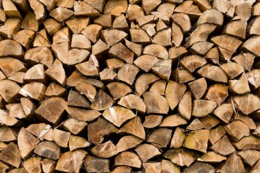 Timber for construction, wooden logs.