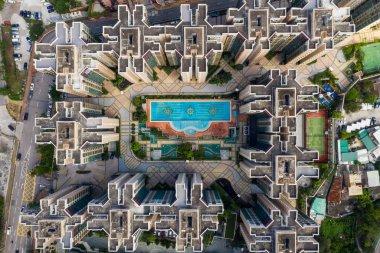 Yuen Long, Hong Kong 21 October 2018:- Hong Kong residential district