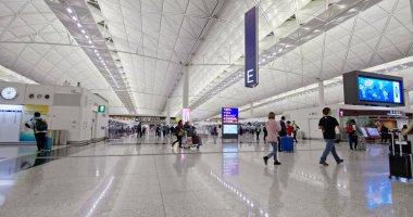Chek lap kok, Hong Kong - 24 November, 2018: Hong Kong international airport