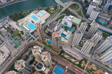 Tuen Mun, Hong Kong 30 March 2019: Hong Kong city stock vector