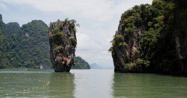 "Картина, постер, плакат, фотообои ""као пхин кан в таиланде, пхукет постеры печать картины фото фотографии"", артикул 377715074"
