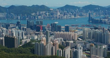 Hong Kong 02 August 2020: Hong Kong city