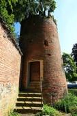 Fotografie Grimmelturm Memmingen ist eine Stadt in Bayern mit vielen historischen Sehenswürdigkeiten