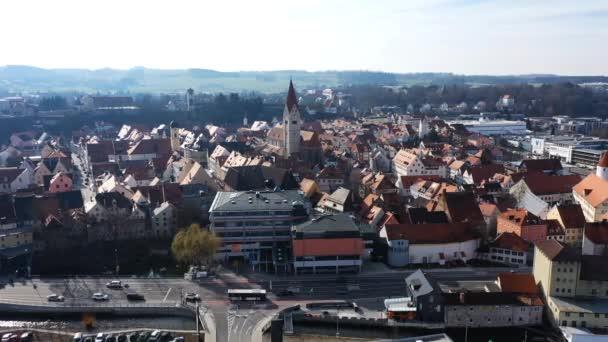 kaufbeuren in Bayern von oben