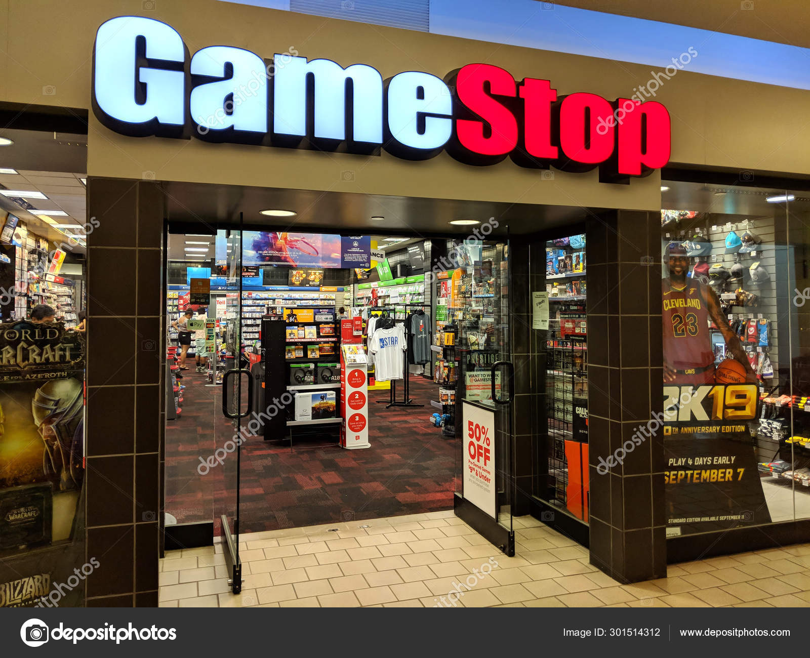 View Game Stop In The Mall  Images