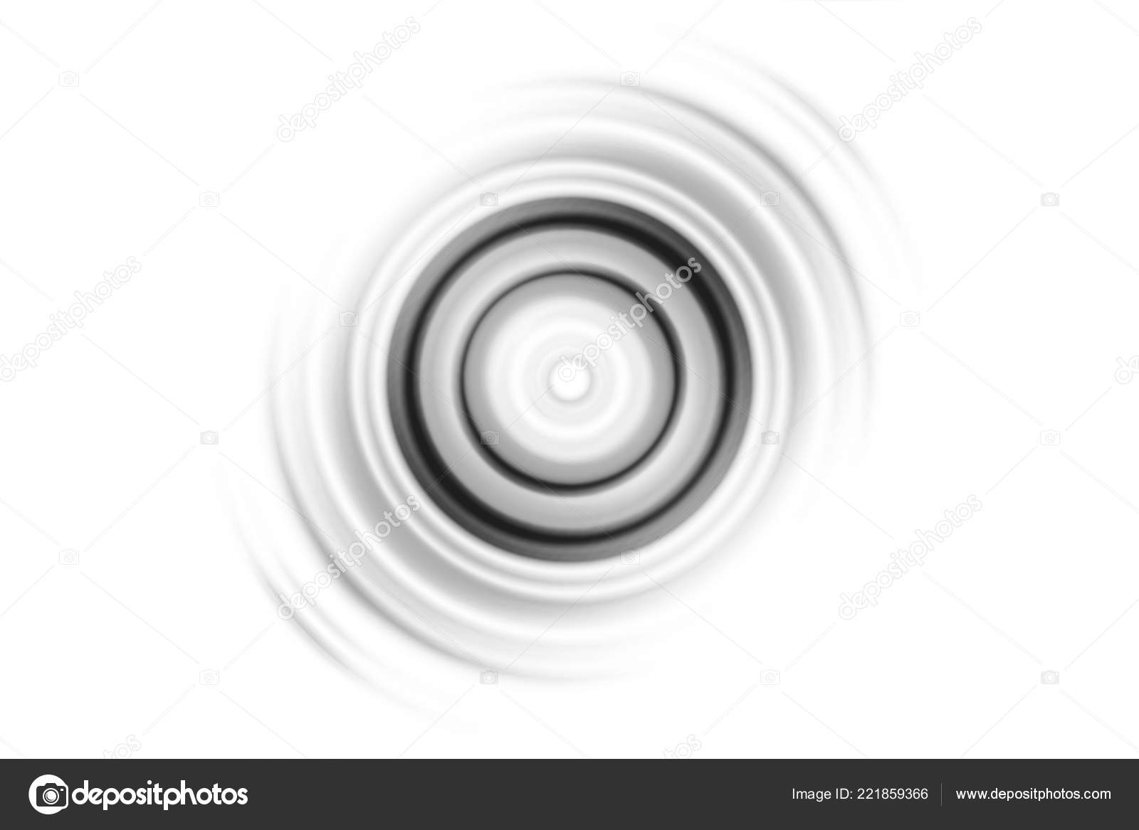 Abstract Black Sound Waves Oscillating White Background — Stock