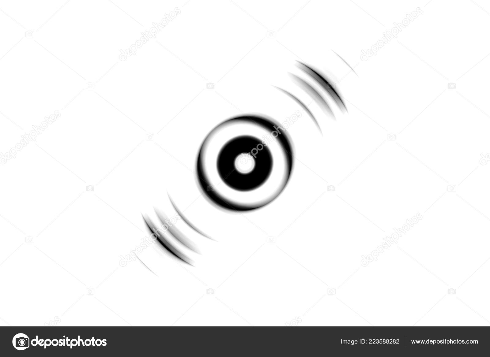 Abstract black and white eye effect with sound waves oscillating background photo by imouu007ggamil com
