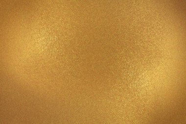 Glowing gold wall wave texture, abstract background