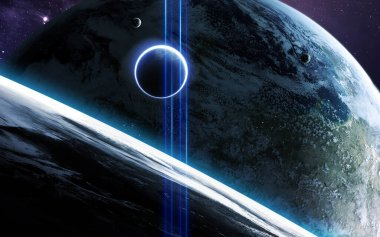 Space art in high resolution