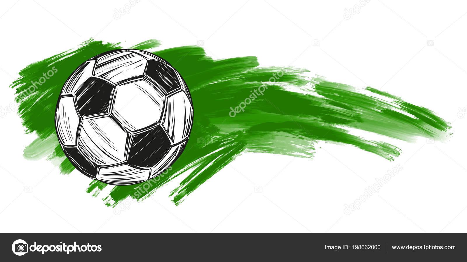 Fussball Fussball Russische Flagge Sportspiel Emblem Schild