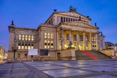 The Konzerthaus at the Gendarmenmarkt in Berlin at night