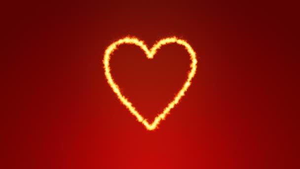one burning heart backgrounds