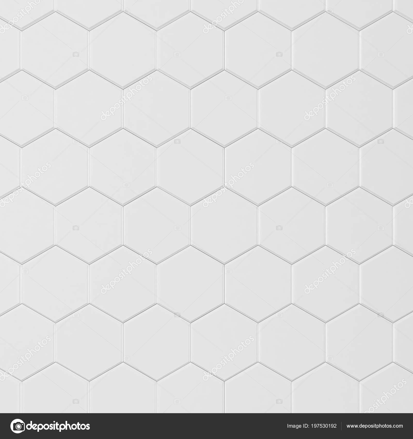 Carrelage Hexagonal Blanc Fond Photographie Montego - Carrelage hexagonal blanc