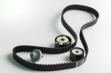 Image of timing belt with rollers