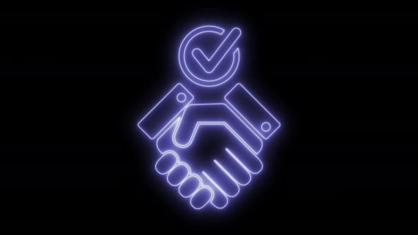 Handshake for checking accord