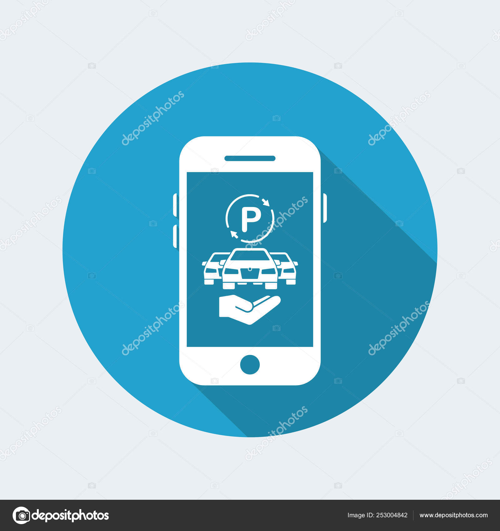 Application For Car Parking Stock Vector C Myvector 253004842