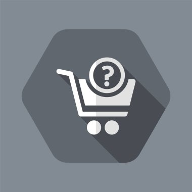 Question about purchasing - Flat icon