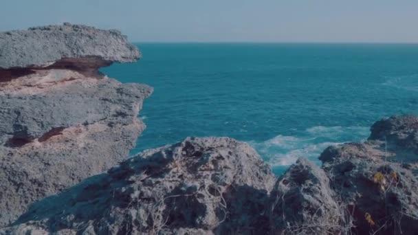 Beautiful cliffs at Broken Beach in Nusa Penida, Bali, Indonesia