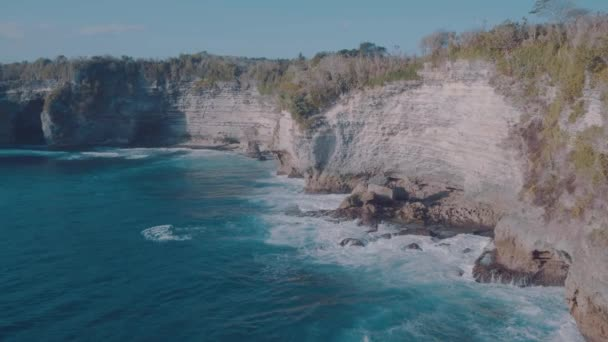 Beautiful cliffs at Broken Beach in Nusa Penida, Bali, Indonesia