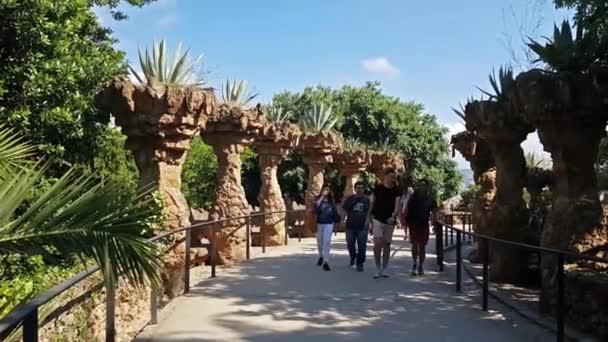 Park Guell, architektura Antonio Gaudí, Barcelona