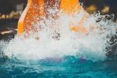 splashings od holky neuteklo snímku v aquaparku