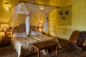 Trópusi szállodai szoba