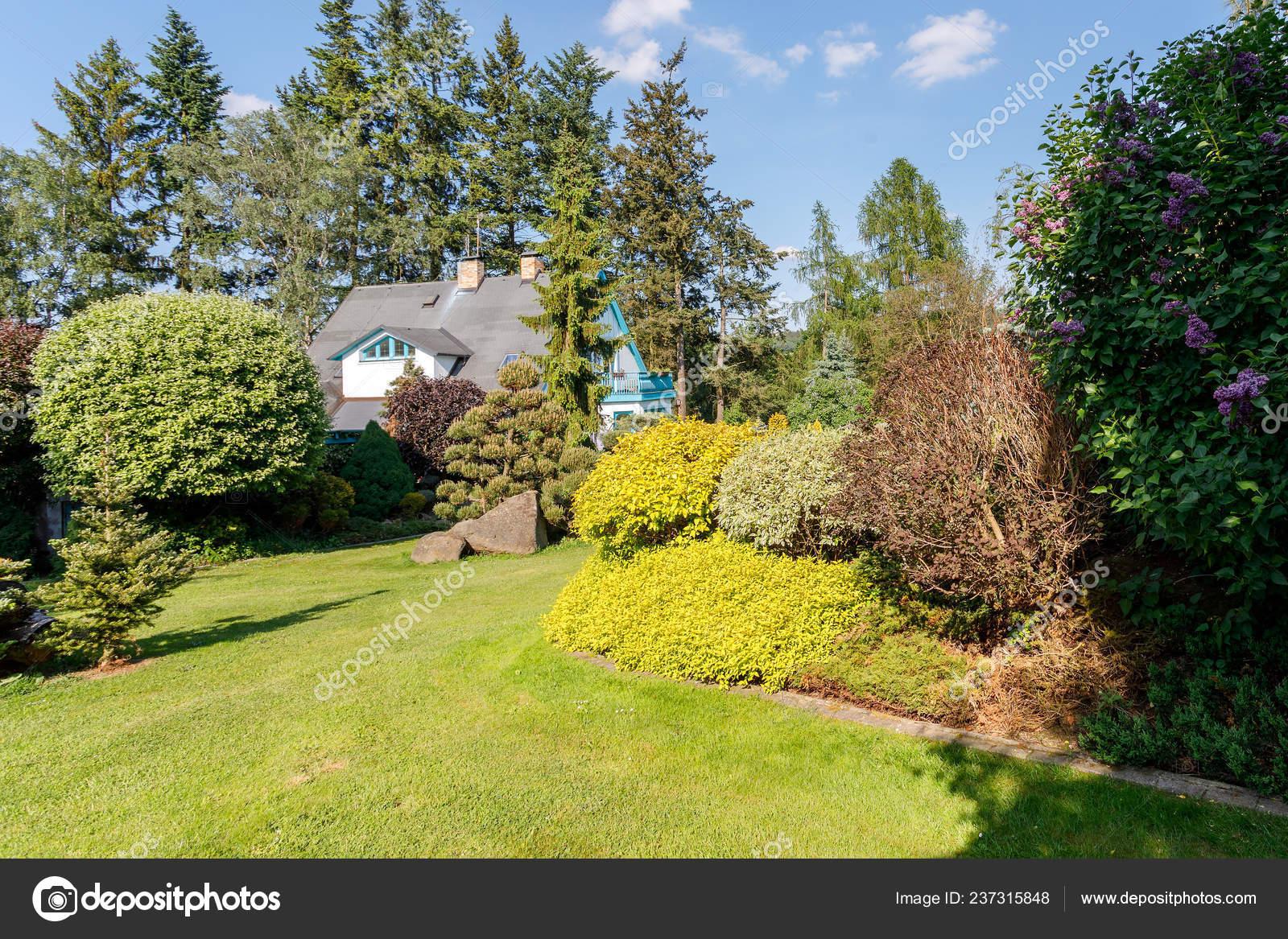 Garden Design House Front