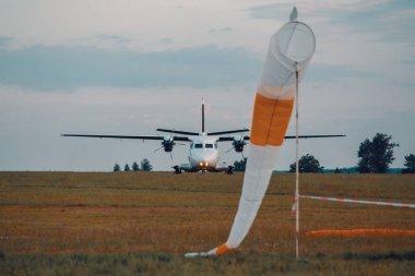 parachutist twin-engine short-range transport aircraft, mostly used for passenger or paratrooper transport
