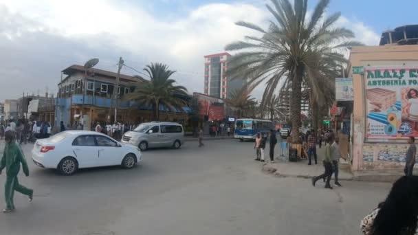 Ordinary Ethiopians on the street of Mekelle