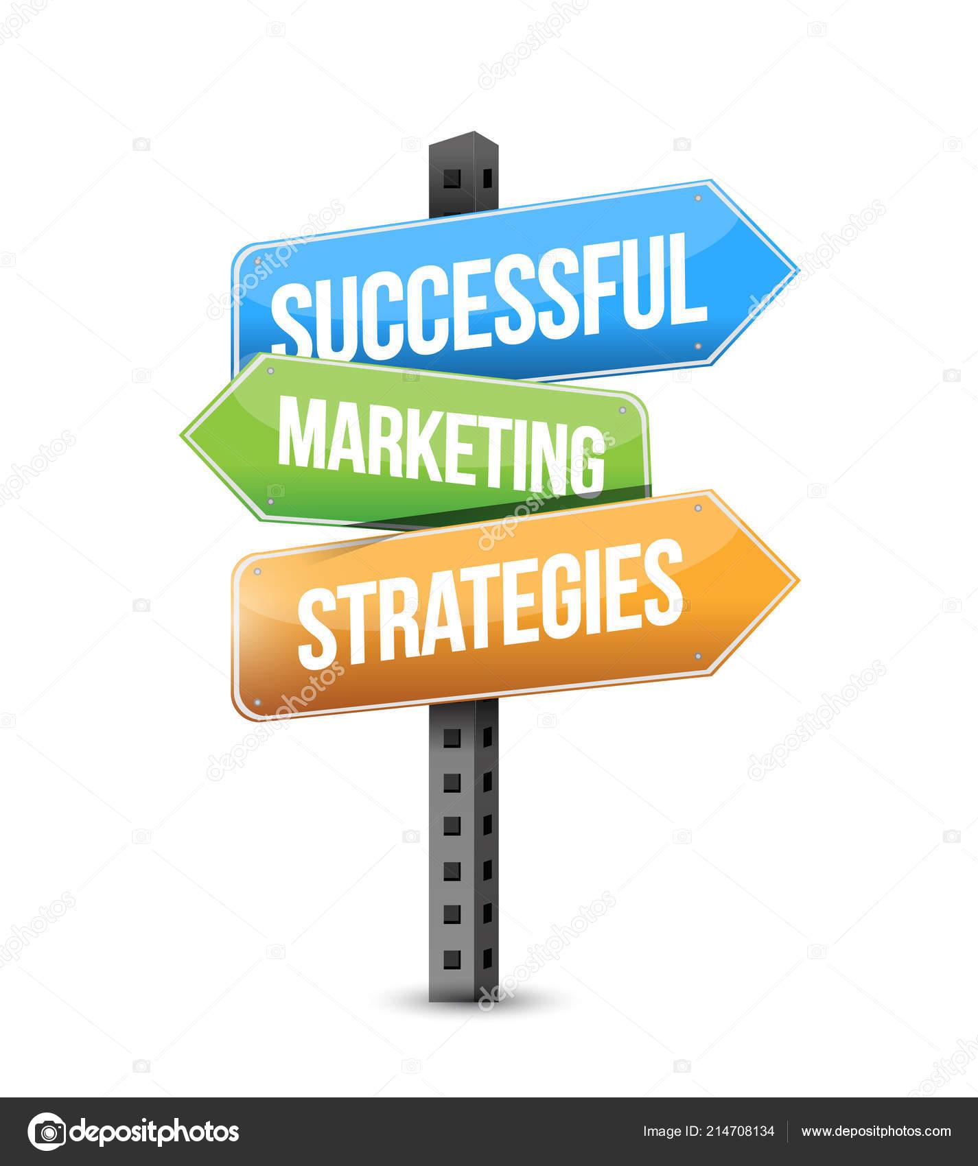 Successful Marketing Strategies Multiple Destination Color Street