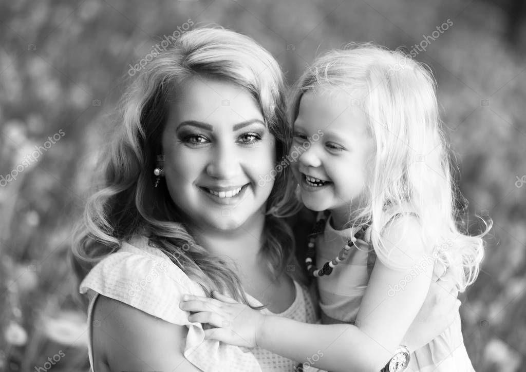 Grande nero motherdaughter