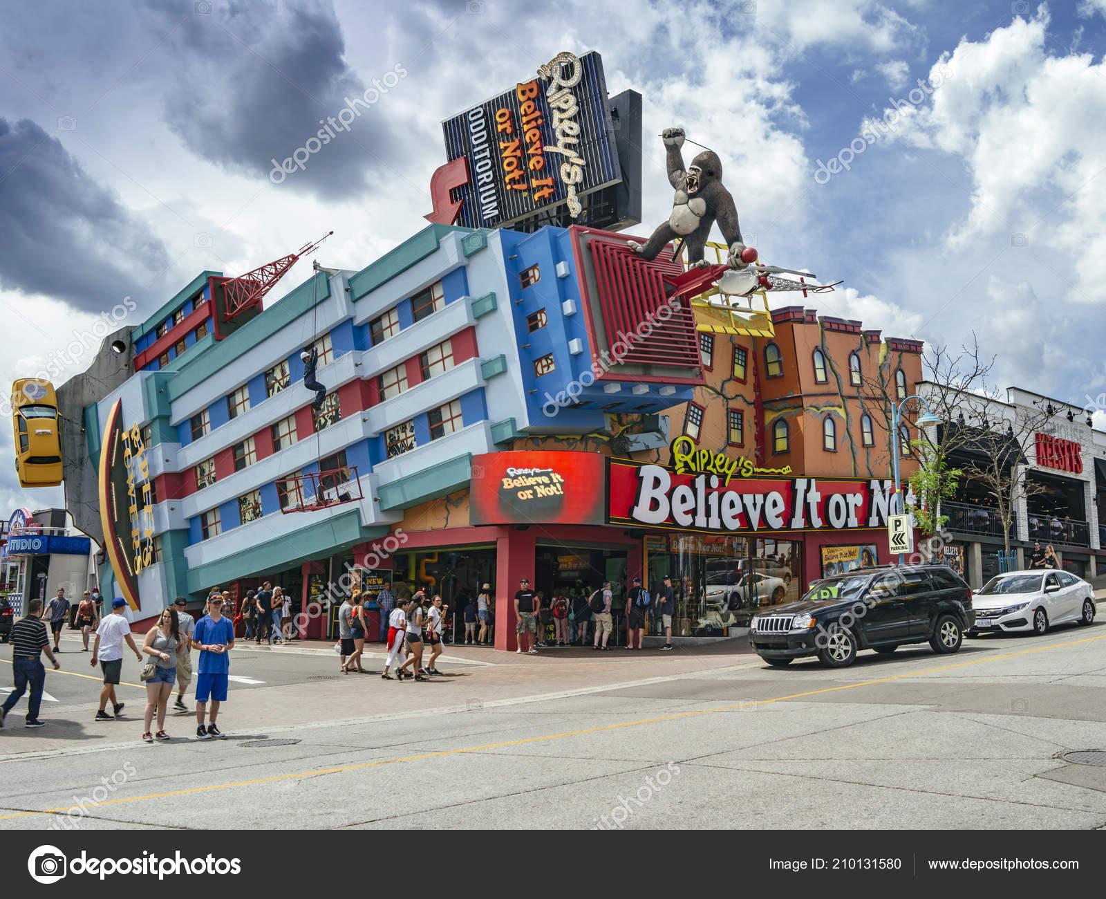 Niagara Falls Ontario Canada July 2018 Ripley Believe