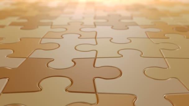 Jigsaw Puzzle Moving Background