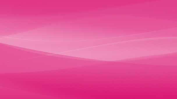 Pink girly abstract animation looped seamless. Waves, lines and light in smooth moves, fading and looping. Background decoration in UHD / 4K.