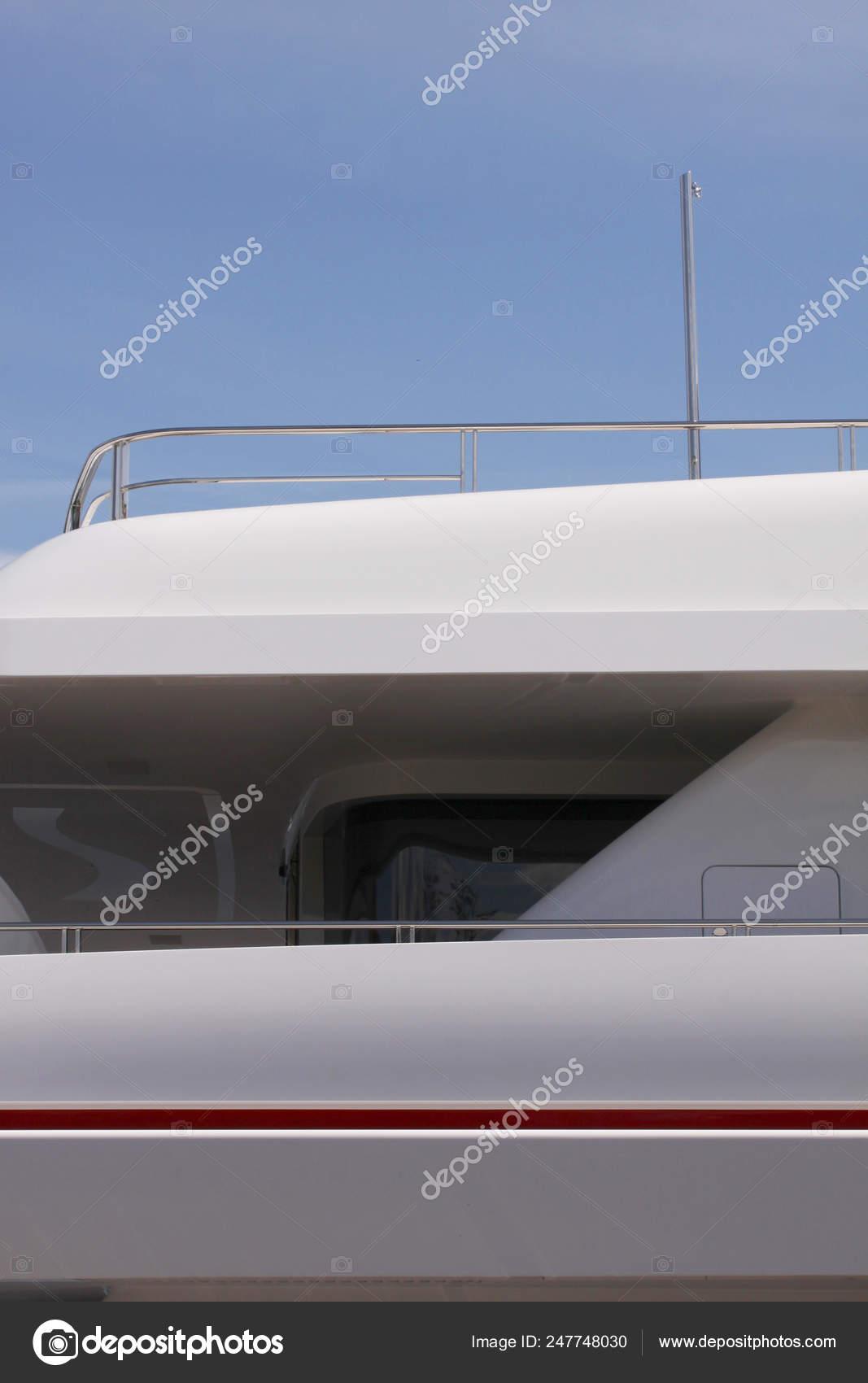 Modern Luxury Yacht Details Stainless Steel Yacht Railing