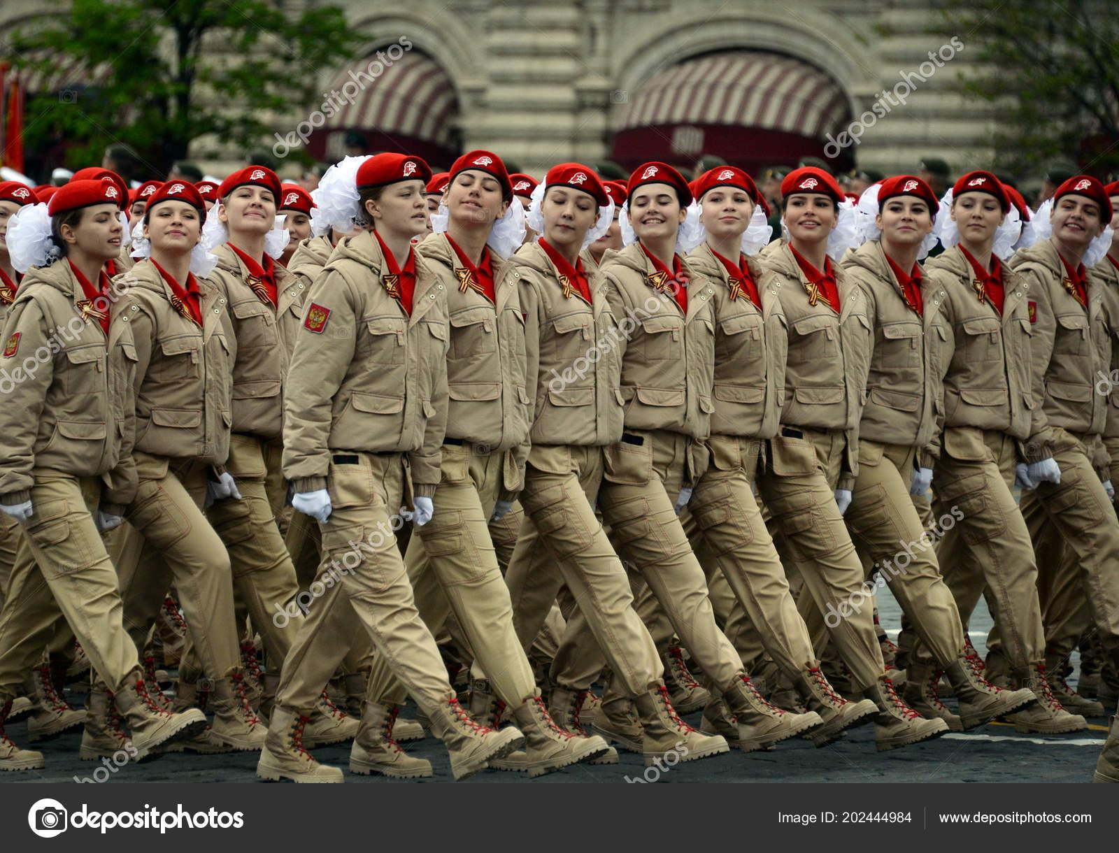 Jóvenes del Movimiento patriótico militar ruso
