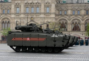 Infantry fighting vehicle on the basis of tracked platform