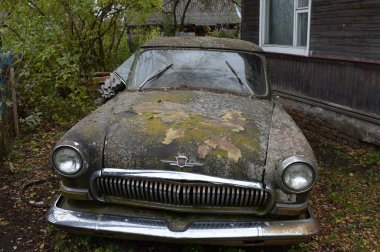 VITEBSK, BELARUS - OCTOBER 12, 2016:Old car GAZ-21